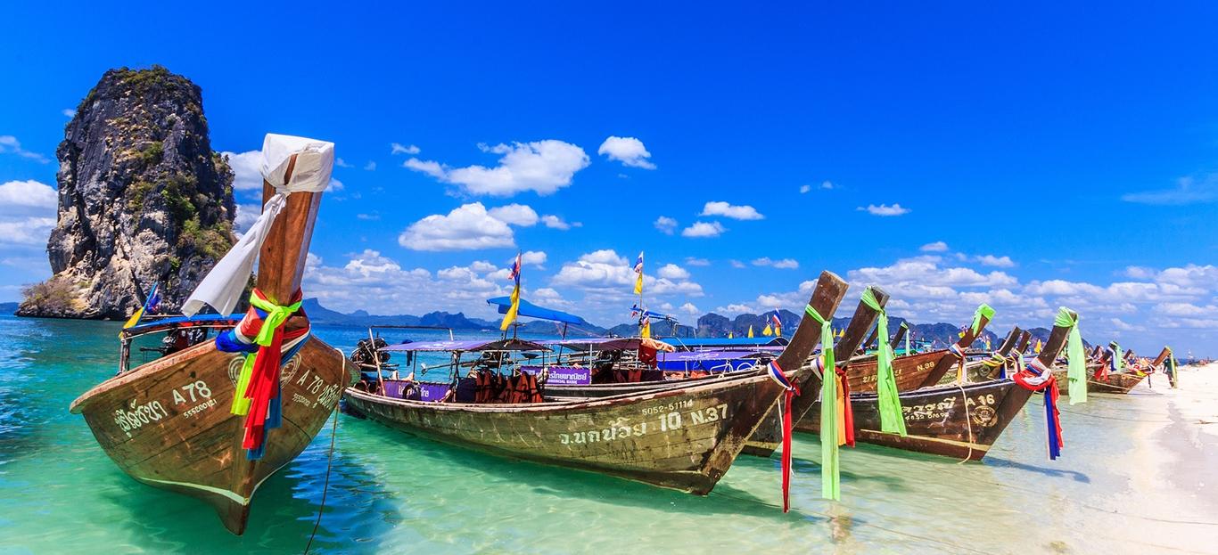 Full-Day Krabi by speedboat from Phuket